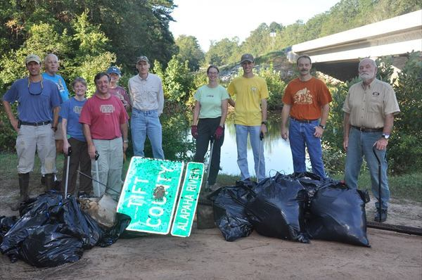 600x398 Last year at US 319, in Alapaha River Cleanup @ US 82, by Bret Wagenhorst, for WWALS.net, 27 September 2014