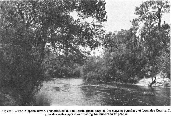 600x410 Alapaha, in oil Survey of Lowndes County, by USDA, for WWALS.net, 0 August 1979