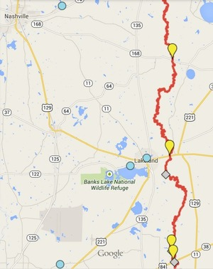 300x378 ARWT Central, in Alapaha River Water Trail draft map, by John S. Quarterman, for WWALS.net, 2 December 2014