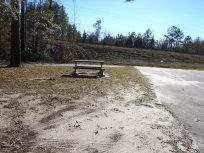 4288x3216 Park bench, in Alapaha River at Statenville, January 2014 WWALS Outing, by Gretchen Quarterman, 18 January 2014