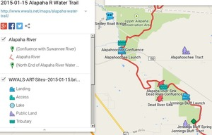 300x192 ARWT Jennings Legend, in 2015-01-15 Alapaha River Water Trail Map, by John S. Quarterman, for WWALS.net, 15 January 2015