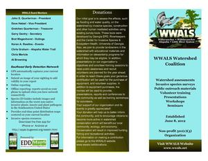 300x232 Cover, Donations, SEEDN, in WWALS Brochure, by John S. Quarterman, for WWALS.net, 12 February 2015
