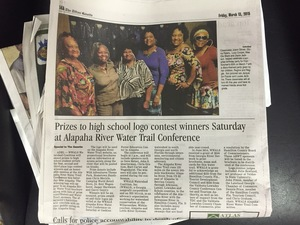 300x225 Context on the page, in Prizes to high school logo contest winners Saturday at Alapaha River Water Trail Conference, by Tifton Gazette, for WWALS.net, 13 March 2015