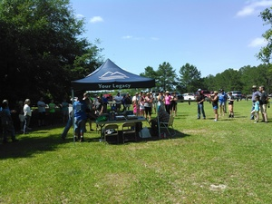 300x225 Crowd, in BIG Little River Paddle Race, by John S. Quarterman, for WWALS.net, 16 May 2015