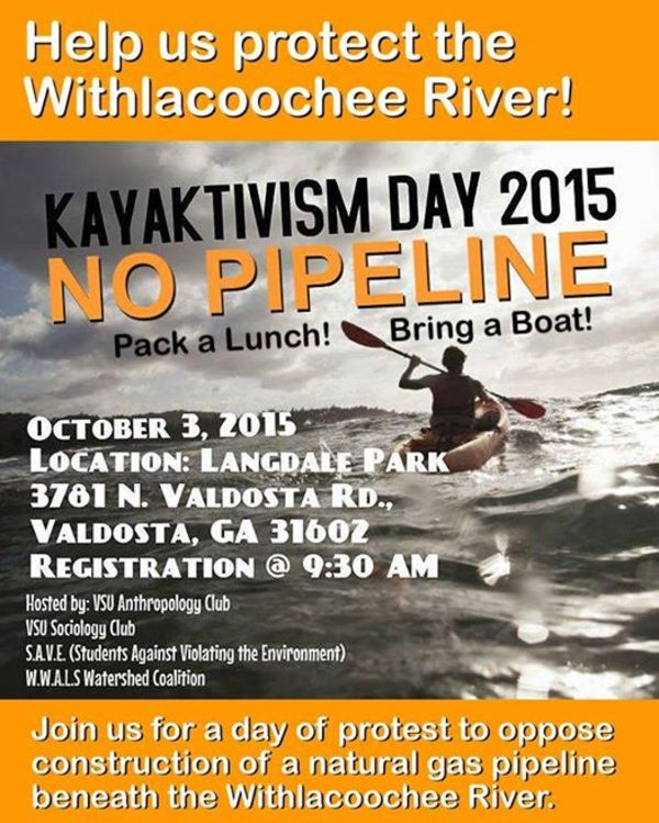 Help us protect the Withlacoochee River!