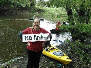 No Pipeline! --Ashlie Prain 30.8930683, -83.3185959