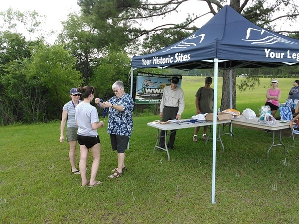 Tandem kayak, female: Caitlyn & Margi Sargent, Summerville, SC