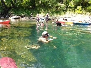 McIntyre Spring snorkel 30.6416626, -83.3660889