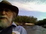 Phil Hubbard on the rocks, 31.0367164, -83.4915390