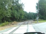 Engine on CSX RR at US 90 side track, 30.3753350, -83.1605480