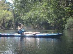 Katharine paddling 30.5289717, -82.7242500