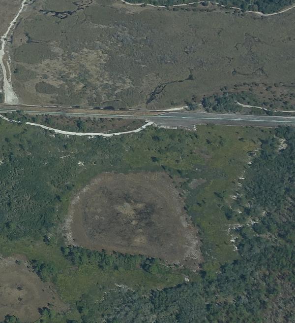 ST-Flight-pondsink Sinkhole SW of Marion Oaks,