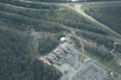 SE across power substation, Sabal Trail, RR, Osceola Polk Line Rd, 28.2624690, -81.5456140