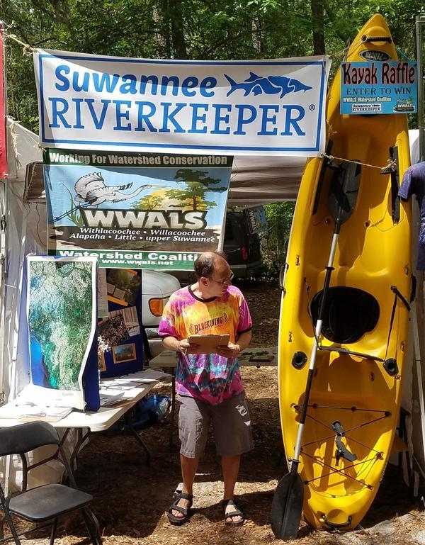 Kayak being raffled