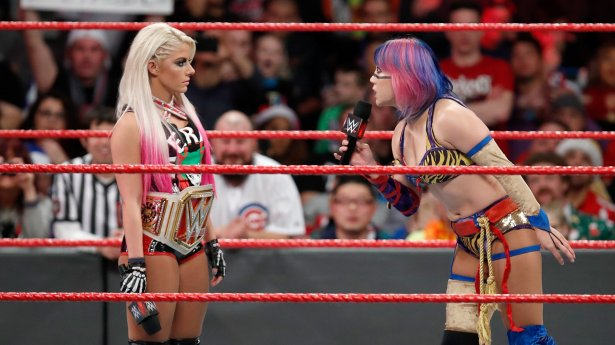 Image result for Alexa Bliss and asuka