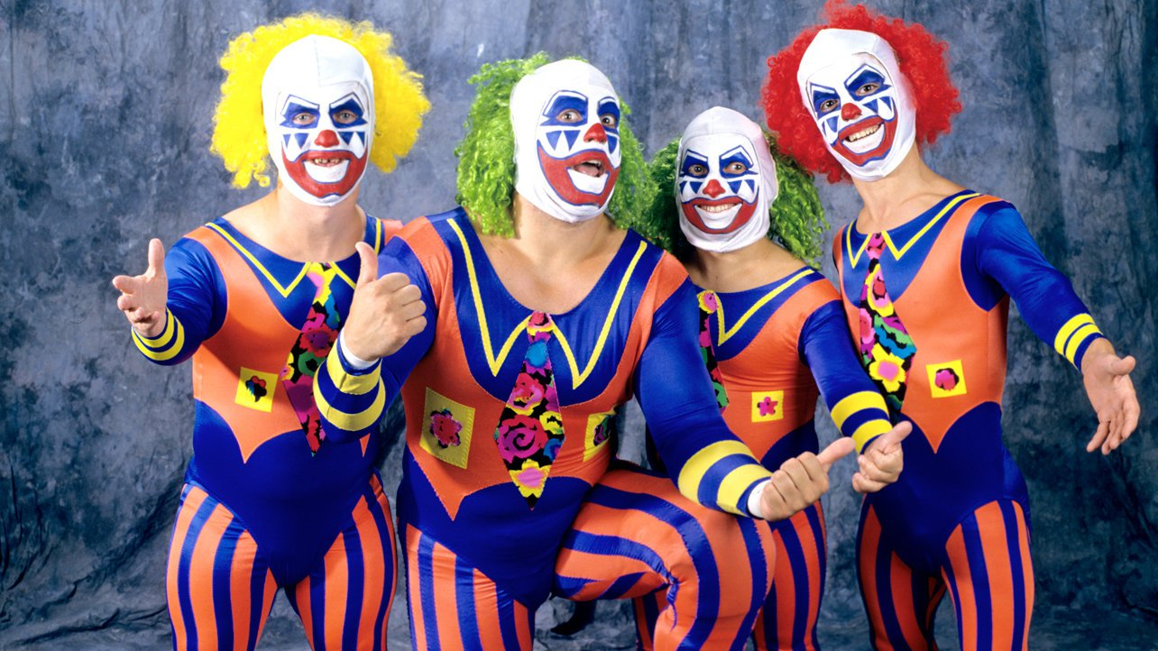Clowns R Us: Doink the Clown with Wink, Dink & Pink
