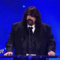 Mick Foley FINALLY Pinned Chris Jericho...at the 2013 WWE Hall of Fame Ceremony