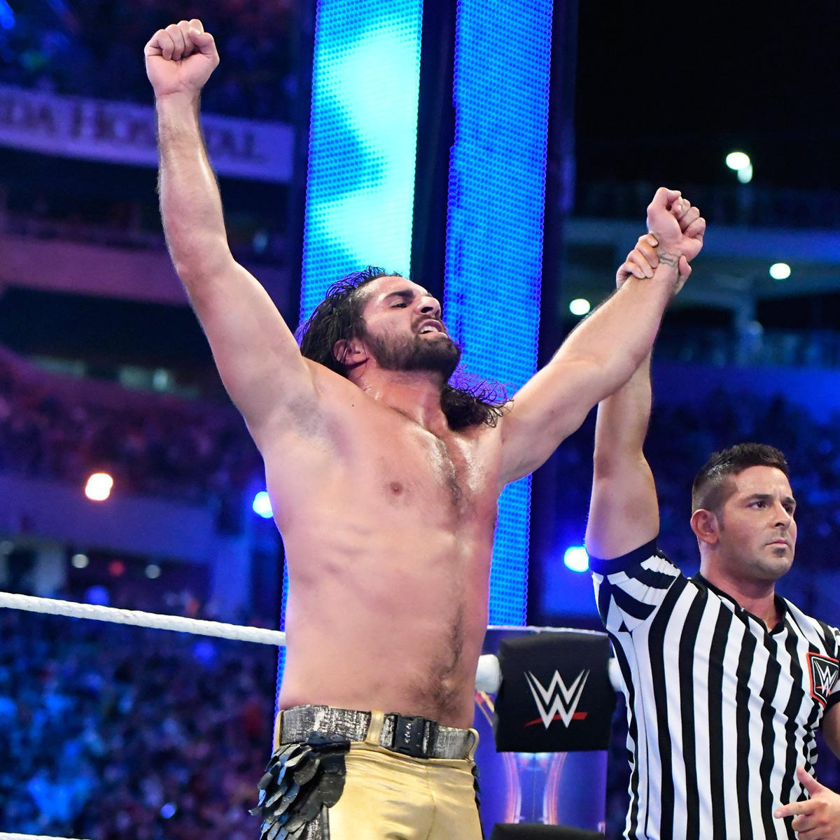 Seth Rollins becomes The Kingslayer and defeats Triple H.