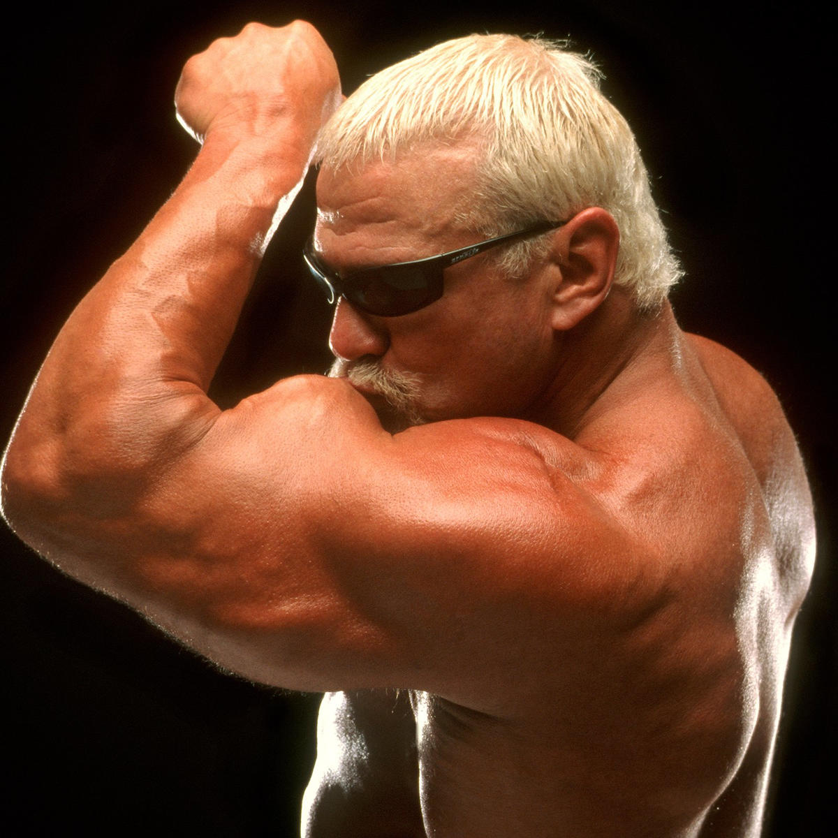 A former collegiate wrestler at the University of Michigan, Scott Steiner's strength was simply superhuman.