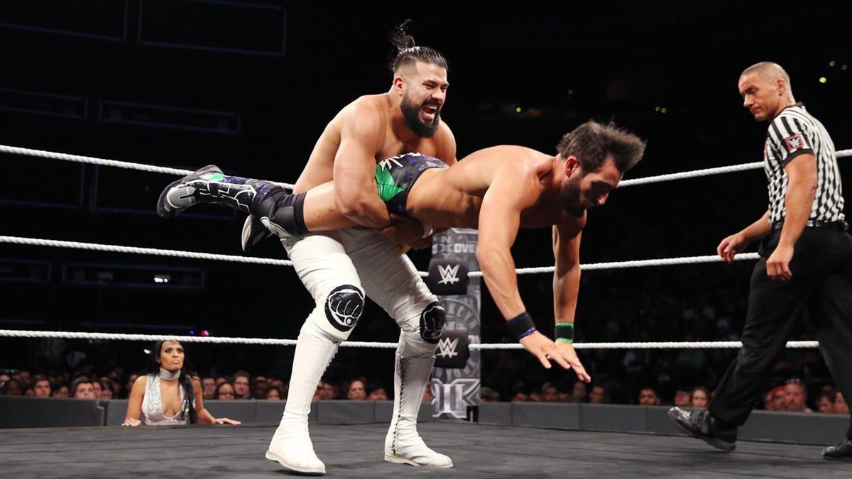 Image result for Johnny Gargano vs. Andrade Almas: NXT Takeover Brooklyn