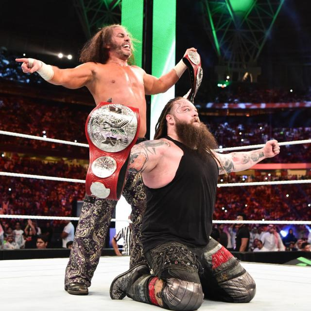 Matt and Bray are the new Raw Tag Team Champions!