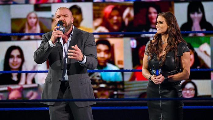 WWE 1 में ट्रिपल एच और स्टेफ़नी मैकमोहन की वर्तमान स्थिति