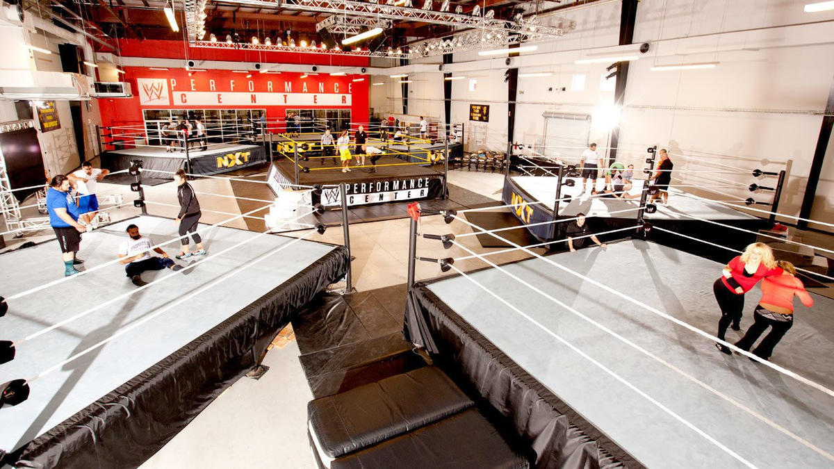 Image result for wwe performance center