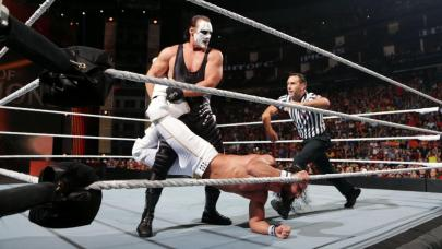 Seth Rollins vs. Sting WWE