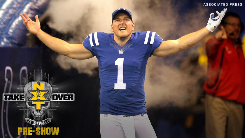 Image result for Former NFL Player Pat McAfee Joining The NXT Takeover: New Orleans Pre-Show Panel