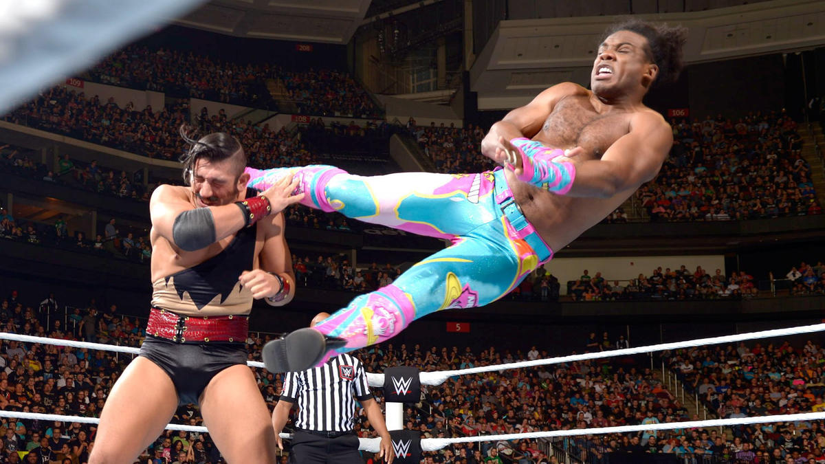 Image result for New Day vs. Vaudevillains – Extreme Rules