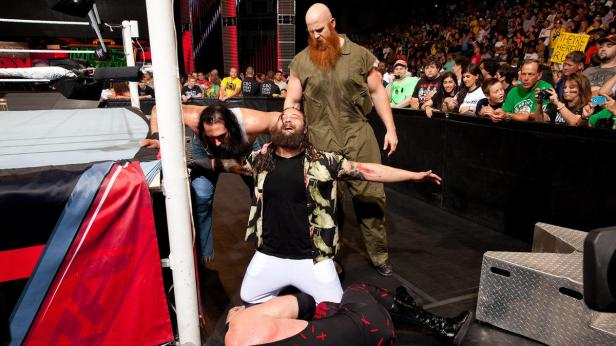 The Wyatt Family debut and attack Kane: Raw, July 8, 2013 | WWE