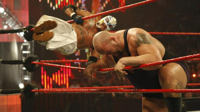 Jeri-Show vs. Rey Mysterio & Batista - WWE Tag Team Championship Match: Hell in a Cell 2009 | WWE