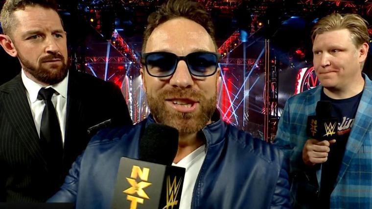LA Knight to appear live tonight on NXT