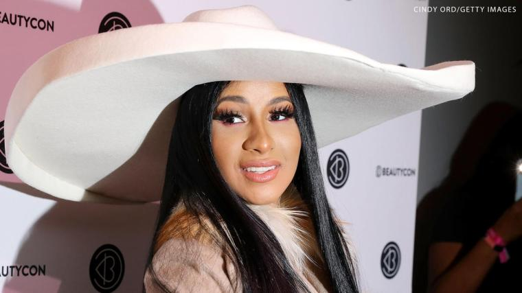 Cardi B reacts on social media to her Raw Legends Night shoutout