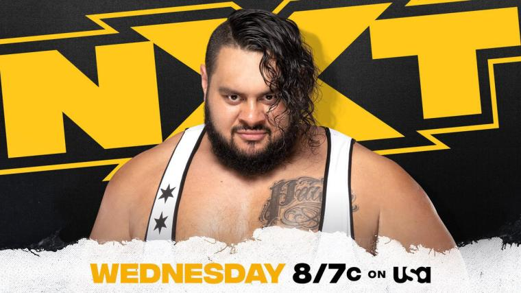 """""""The Colossal"""" Bronson Reed returns this week on NXT"""