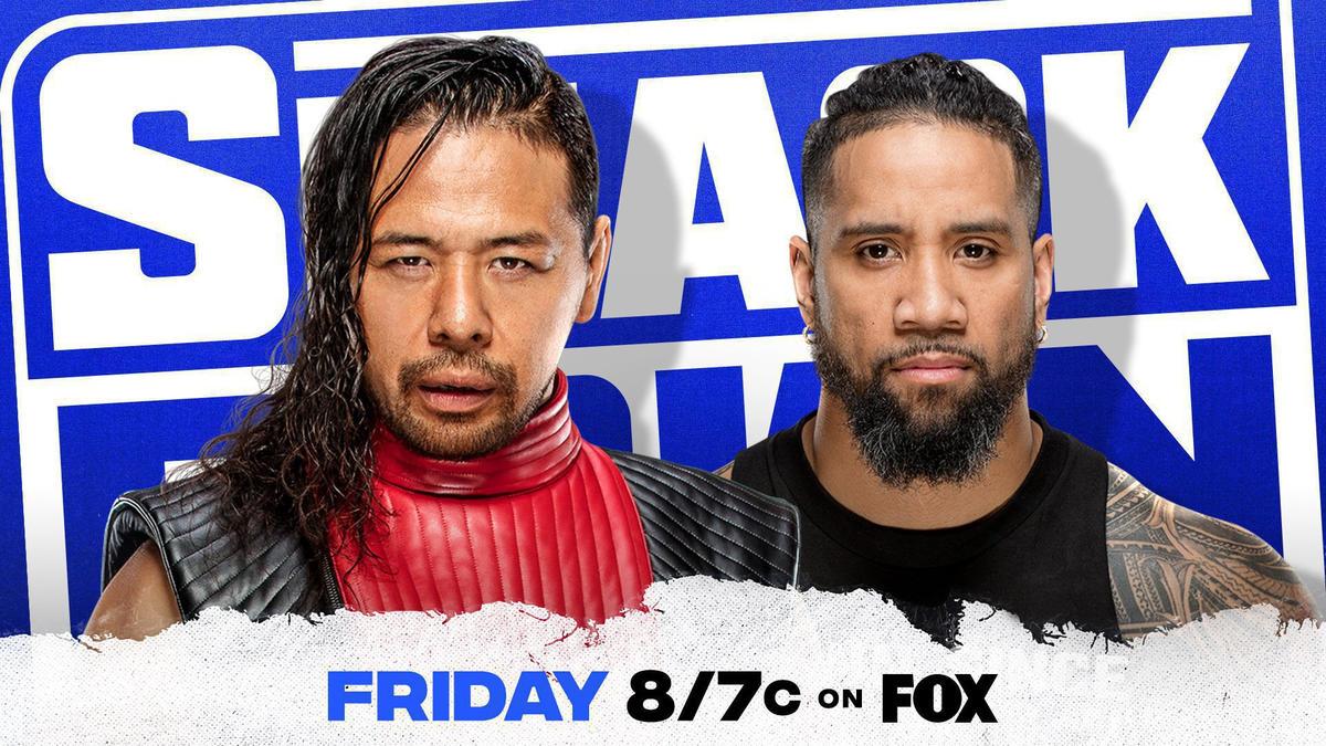 Jey Uso to face Shinsuke Nakamura next week on SmackDown