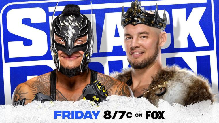 Rey Mysterio looks for retribution against King Corbin this week on SmackDown