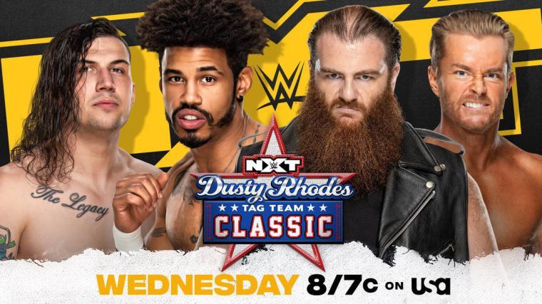 MSK face Killian Dain & Drake Maverick in Dusty Rhodes Tag Team Classic Second Round