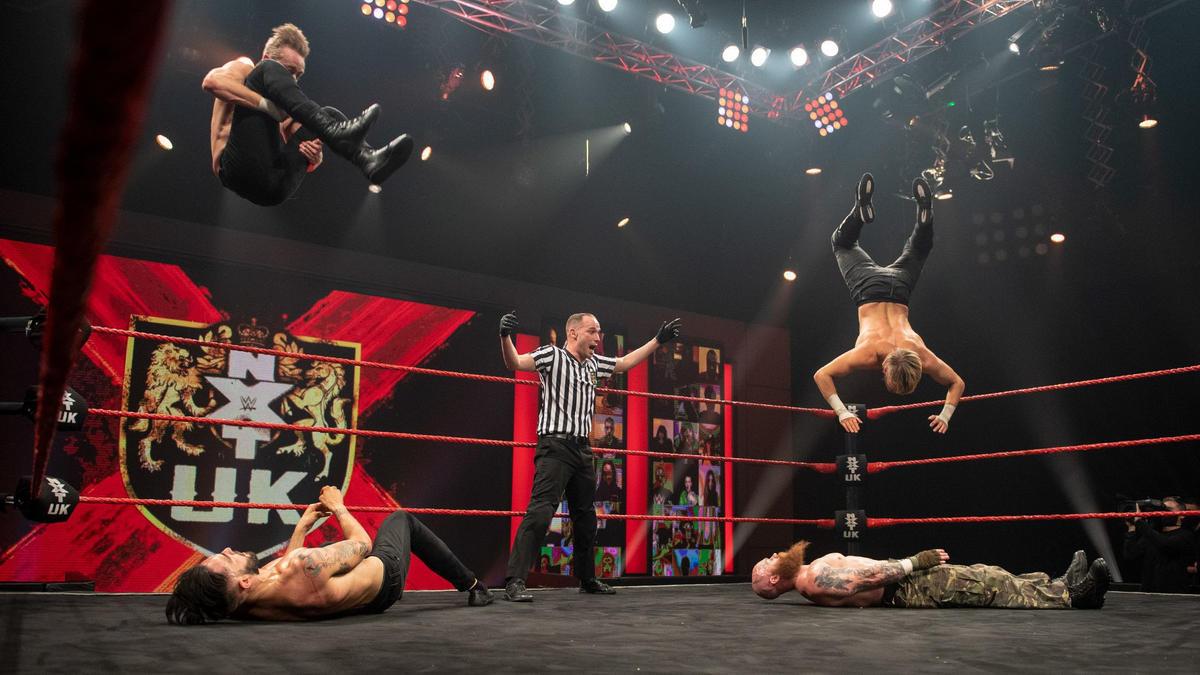 WWE NXT UK results, Feb. 11, 2021