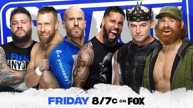 Owens, Bryan & Cesaro battle Uso, Corbin & Zayn for Elimination Chamber momentum