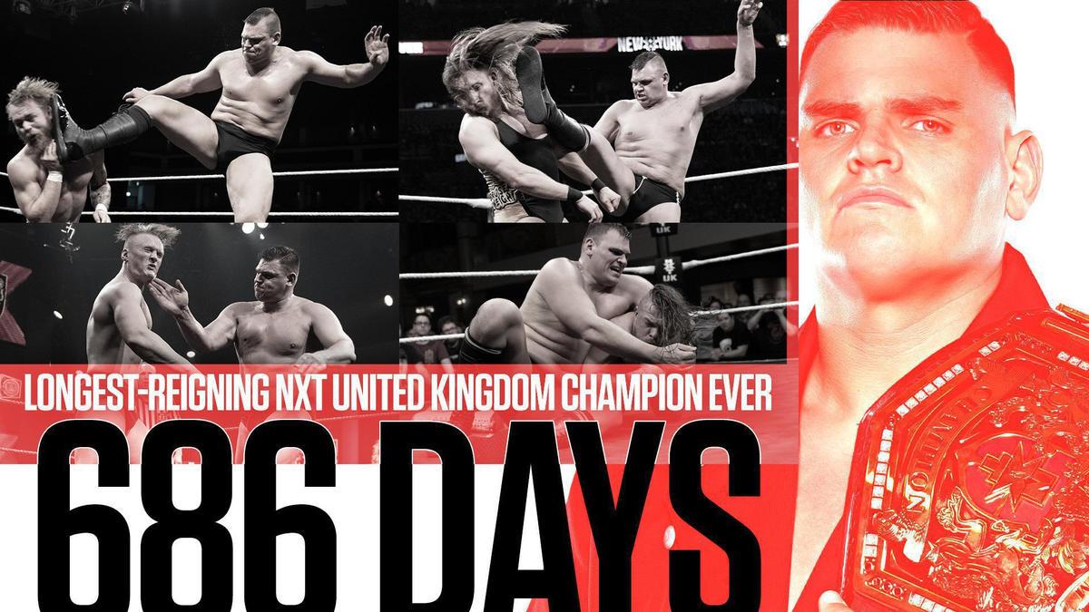 WALTER breaks record as longest-reigning NXT United Kingdom Champion