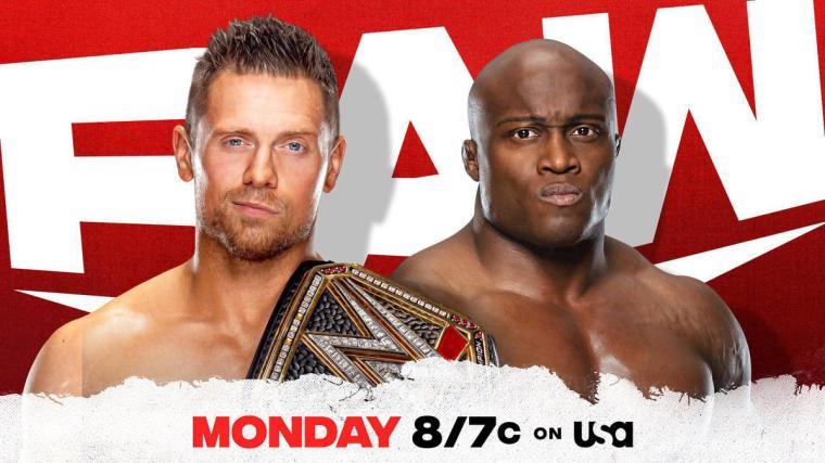 The Miz to battle Bobby Lashley for the WWE Title next week