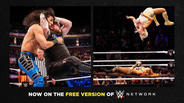 Every WWE Fastlane, WWE Evolution 2018 and more added to Free Version of WWE Network