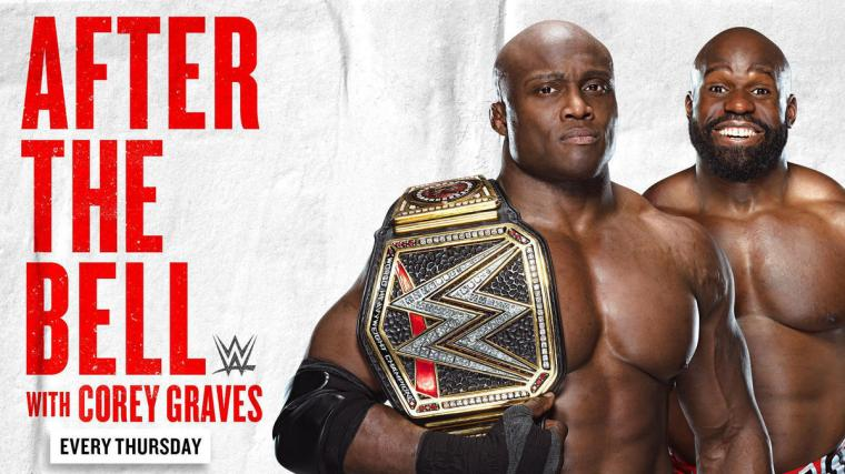 New WWE Champion Bobby Lashley and Apollo Crews join WWE After the Bell tomorrow, one day early
