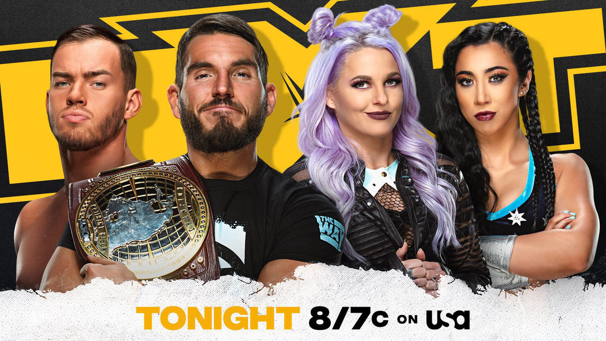 The Way head to therapy tonight on NXT