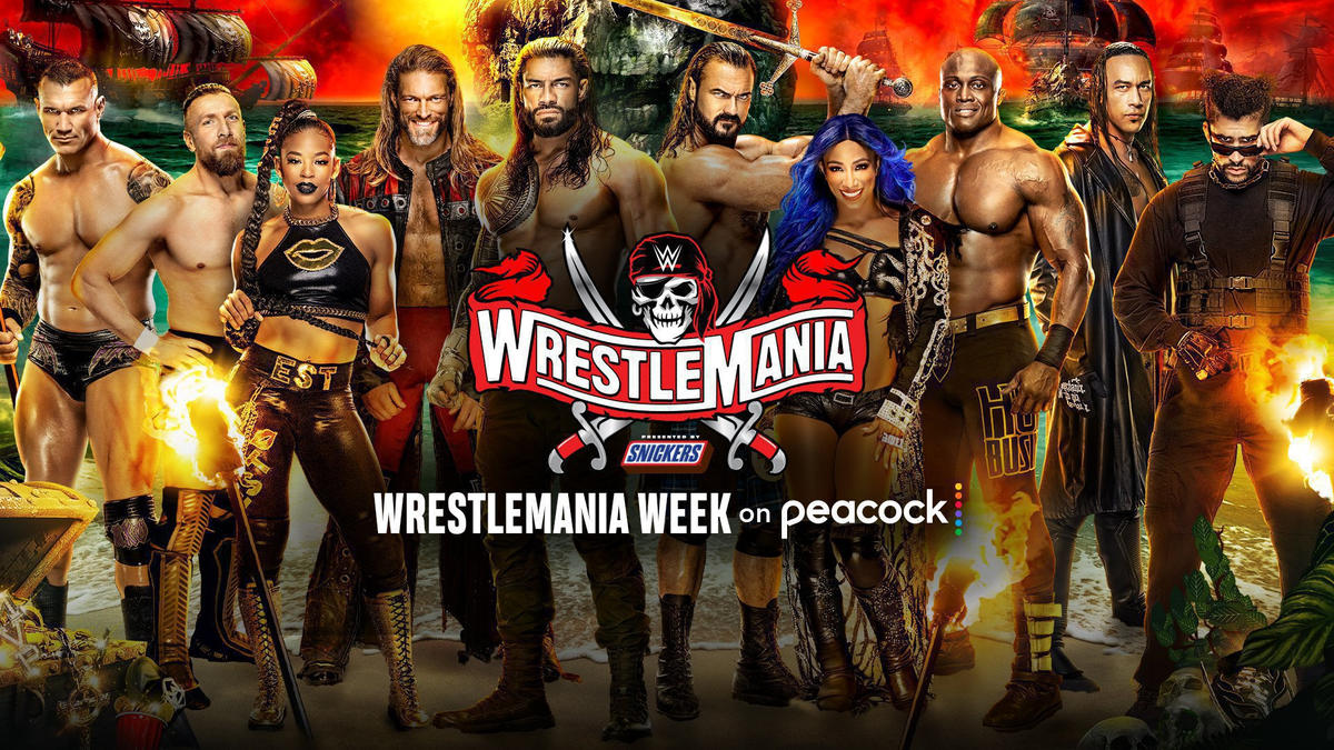 Peacock Unveils WrestleMania Week Programming