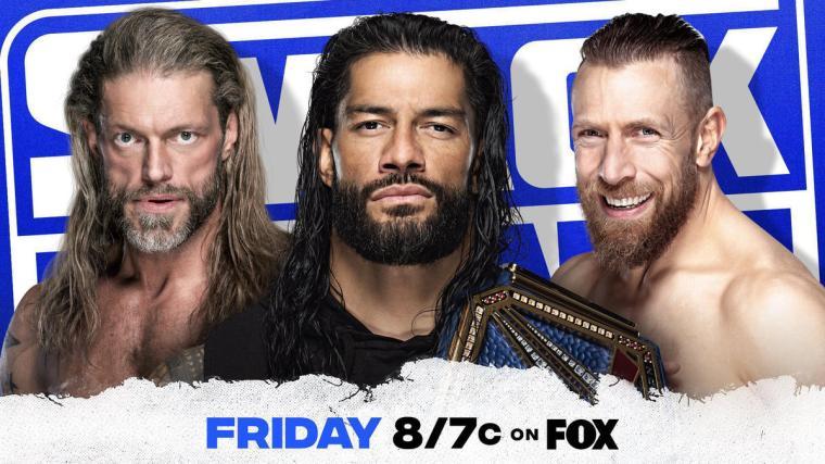Universal Champion Roman Reigns, Daniel Bryan and Edge to address the WWE Universe