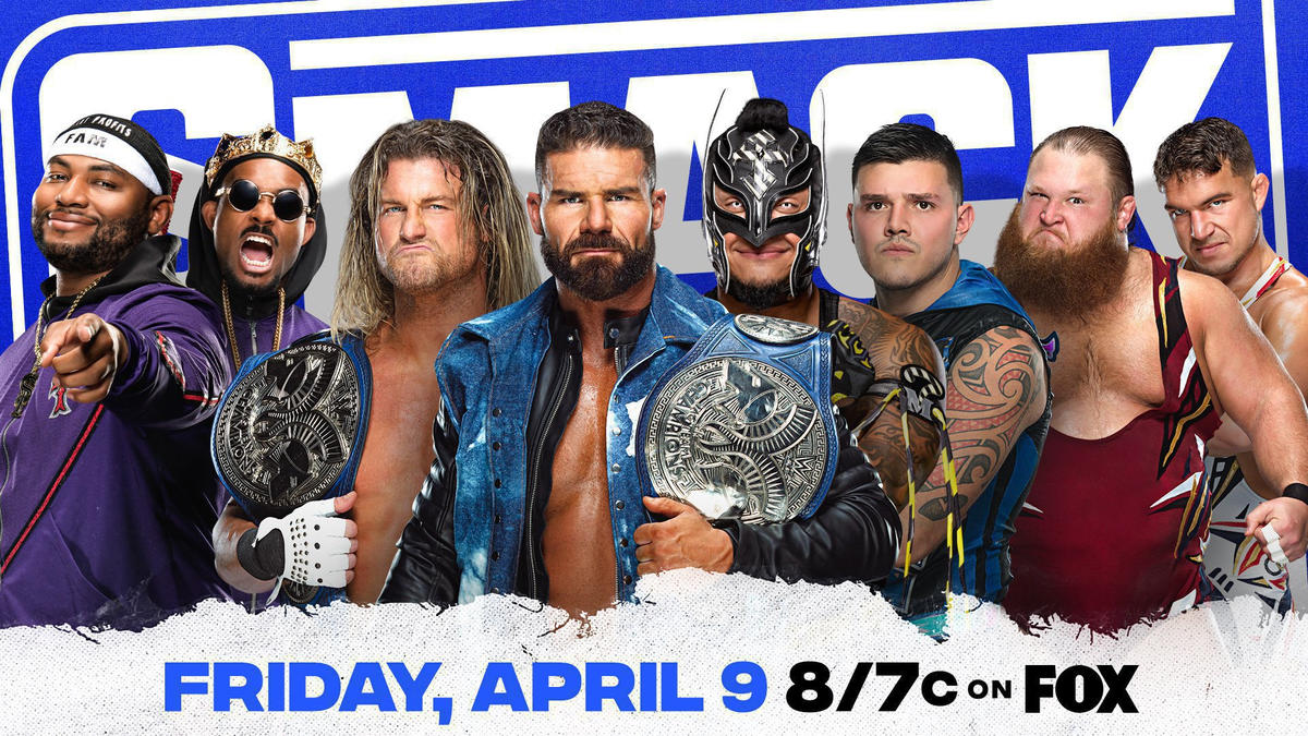 SmackDown Fatal 4-Way Tag Team Championship Match