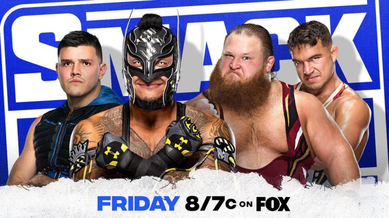 Rey Mysterio and Otis set for clash of styles on SmackDown