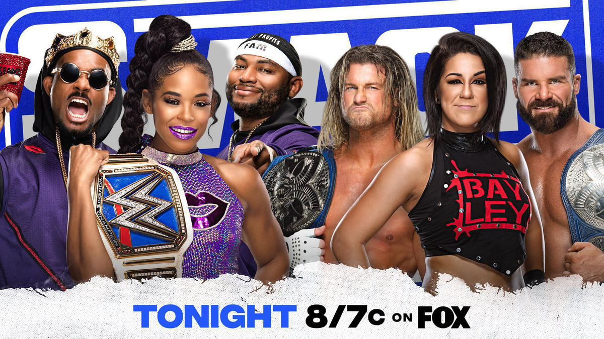 SmackDown to feature an explosive Six-Person Mixed Tag Team Match